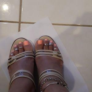 Salvatore Ferragamo sandals, size 9.5